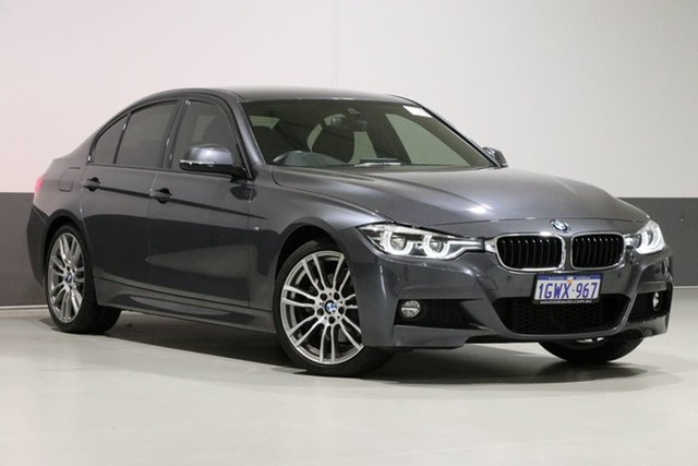 Used BMW 330i F30 LCI M Sport, 2018 BMW 330i F30 LCI M Sport Grey 8 Speed Automatic Sedan