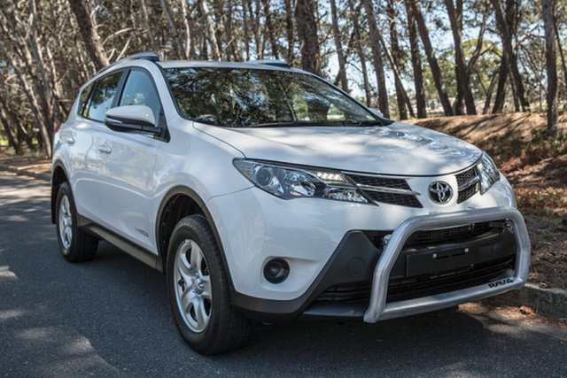 Used Toyota RAV4 ALA49R MY14 GX AWD, 2015 Toyota RAV4 ALA49R MY14 GX AWD White 6 Speed Sports Automatic Wagon