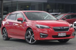 2019 Subaru Impreza G5 MY19 2.0i-S CVT AWD Pure Red 7 Speed Constant Variable Hatchback.
