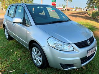 2011 Suzuki SX4 GYA MY10 Silver 6 Speed Manual Hatchback.