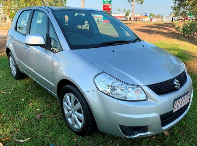 Used Suzuki SX4 GYA MY10 , 2011 Suzuki SX4 GYA MY10 Silver 6 Speed Manual Hatchback