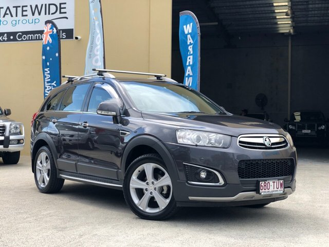 Used Holden Captiva CG MY14 7 AWD LTZ, 2014 Holden Captiva CG MY14 7 AWD LTZ Grey 6 Speed Sports Automatic Wagon