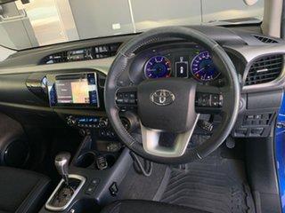 2015 Toyota Hilux GUN126R SR5 (4x4) Nebula Blue 6 Speed Automatic Dual Cab Utility.