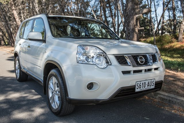 Used Nissan X-Trail T31 Series IV ST 2WD, 2012 Nissan X-Trail T31 Series IV ST 2WD Ivory Pearl 1 Speed Constant Variable Wagon