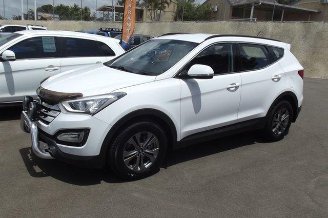 Used Hyundai Santa Fe DM MY14 Active, 2014 Hyundai Santa Fe DM MY14 Active Creamy White 6 Speed Sports Automatic Wagon