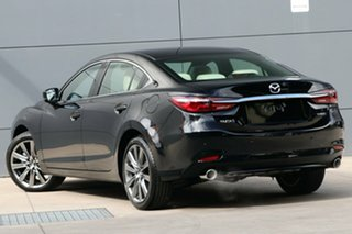 2019 Mazda 6 GL1033 Atenza SKYACTIV-Drive Jet Black 6 Speed Sports Automatic Sedan.