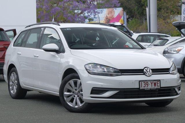 Demo Volkswagen Golf 7.5 MY19 110TSI DSG Trendline, 2018 Volkswagen Golf 7.5 MY19 110TSI DSG Trendline Pure White 7 Speed Sports Automatic Dual Clutch