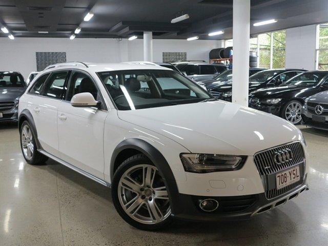 Used Audi A4 B8 8K MY14 Allroad S Tronic Quattro, 2014 Audi A4 B8 8K MY14 Allroad S Tronic Quattro White 7 Speed Sports Automatic Dual Clutch Wagon