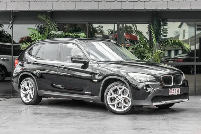 Used BMW X1 E84 MY11 sDrive18i Steptronic, 2011 BMW X1 E84 MY11 sDrive18i Steptronic Black 6 Speed Sports Automatic Wagon