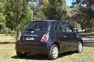 2014 Fiat 500 Series 1 POP Black 5 Speed Manual Hatchback.