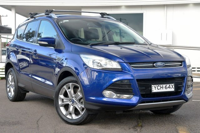 Used Ford Kuga TF Trend AWD, 2014 Ford Kuga TF Trend AWD Blue 6 Speed Sports Automatic Wagon