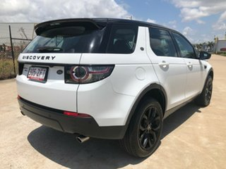 2015 Land Rover Discovery Sport L550 16MY SD4 HSE White 9 Speed Sports Automatic Wagon.