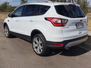 2018 Ford Escape ZG Titanium AWD Frozen White 6 Speed Semi Auto SUV.