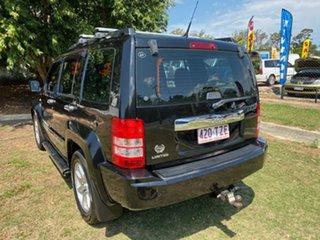2011 Jeep Cherokee KK Limited 70th Anniversary (4x4) Black 4 Speed Automatic Wagon