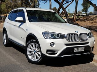 2014 BMW X3 F25 LCI MY0414 xDrive20d Steptronic White 8 Speed Automatic Wagon.