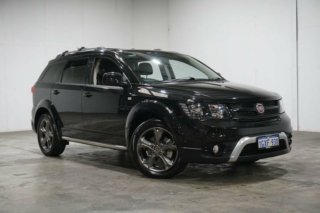 Used Fiat Freemont JF Crossroad, 2014 Fiat Freemont JF Crossroad Black 6 Speed Automatic Wagon