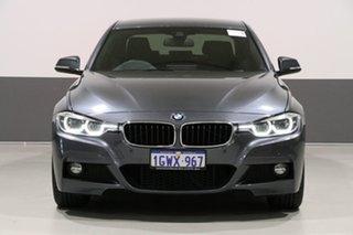 2018 BMW 330i F30 LCI MY18 M Sport Grey 8 Speed Automatic Sedan.