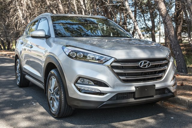 Used Hyundai Tucson TL2 MY18 Elite 2WD, 2018 Hyundai Tucson TL2 MY18 Elite 2WD Silver 6 Speed Sports Automatic Wagon
