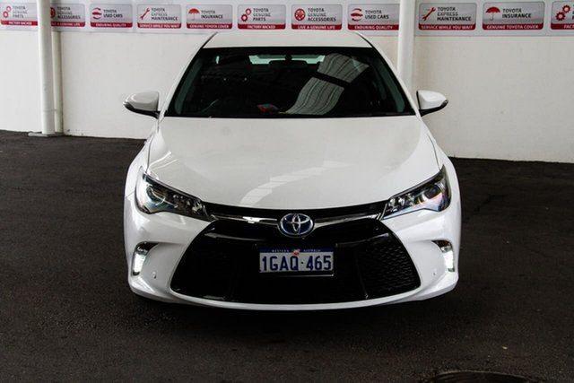 Used Toyota Camry AVV50R MY16 Atara S Hybrid, 2016 Toyota Camry AVV50R MY16 Atara S Hybrid Diamond White Continuous Variable Sedan