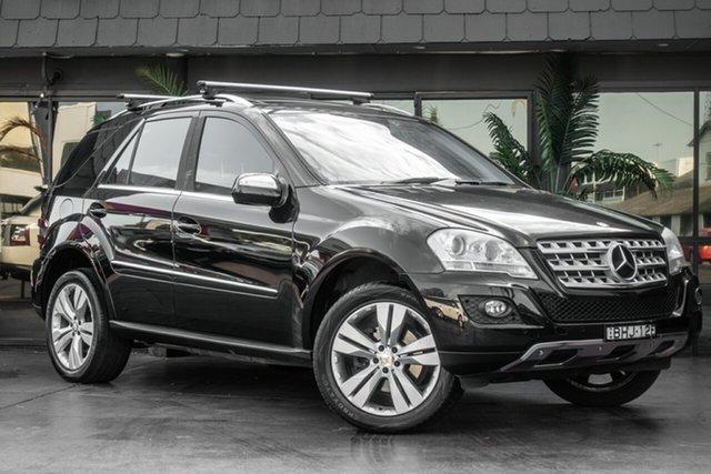 Used Mercedes-Benz M-Class W164 MY09 ML350, 2008 Mercedes-Benz M-Class W164 MY09 ML350 Black 7 Speed Sports Automatic Wagon