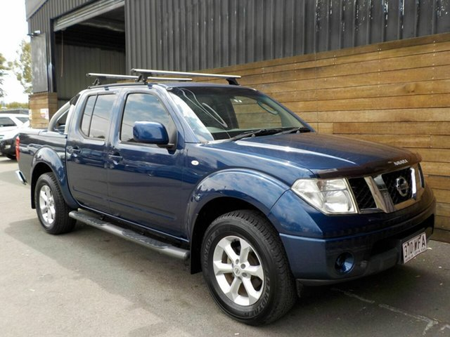 Used Nissan Navara D40 MY11 ST, 2011 Nissan Navara D40 MY11 ST Blue 6 Speed Manual Utility