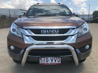 2015 Isuzu MU-X MY15 LS-T Rev-Tronic 4x2 Bronze 5 Speed Sports Automatic Wagon