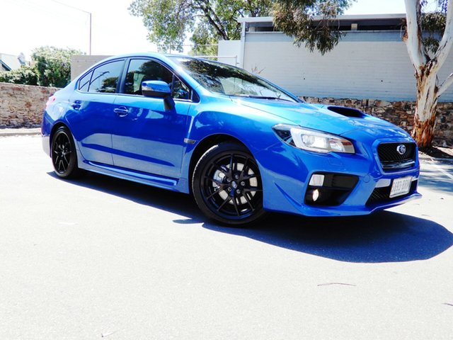 Used Subaru WRX V1 MY17 do Edition Lineartronic AWD, 2017 Subaru WRX V1 MY17 do Edition Lineartronic AWD WR Blue Mica 8 Speed Constant Variable Sedan