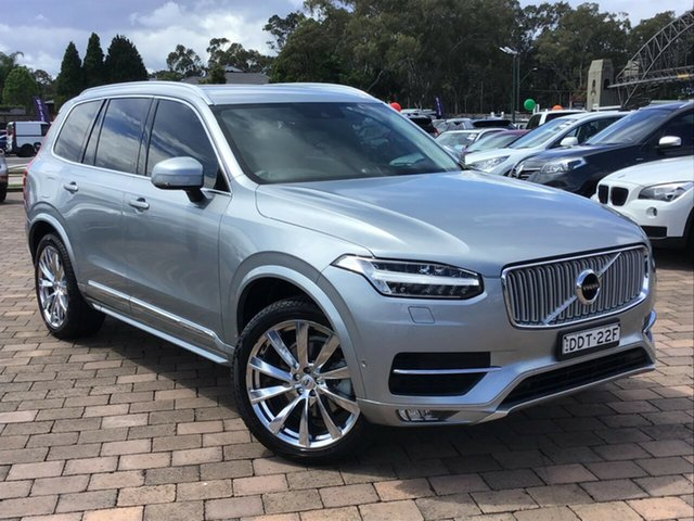 Used Volvo XC90 L Series MY16 T6 Geartronic AWD Inscription, 2015 Volvo XC90 L Series MY16 T6 Geartronic AWD Inscription Silver 8 Speed Sports Automatic SUV