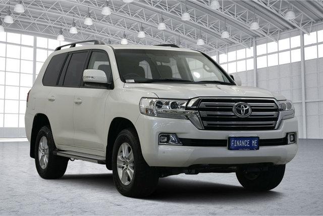 Used Toyota Landcruiser VDJ200R Altitude, 2017 Toyota Landcruiser VDJ200R Altitude White 6 Speed Sports Automatic Wagon