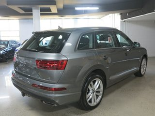 2016 Audi Q7 4M MY16 TDI Tiptronic Quattro Graphite Grey 8 Speed Sports Automatic Wagon