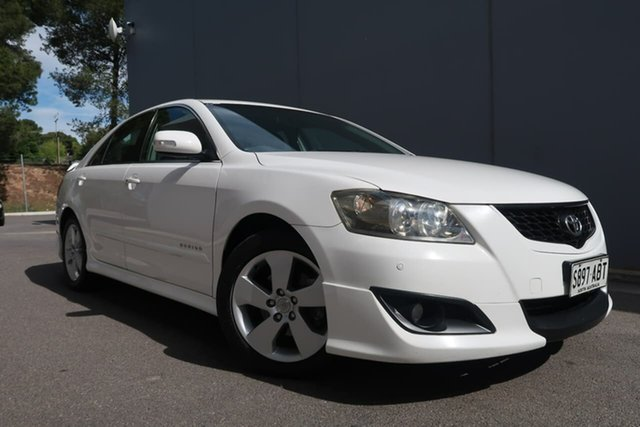 Used Toyota Aurion GSV40R Sportivo ZR6, 2008 Toyota Aurion GSV40R Sportivo ZR6 White 6 Speed Sports Automatic Sedan