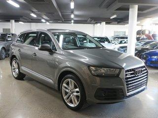 2016 Audi Q7 4M MY16 TDI Tiptronic Quattro Graphite Grey 8 Speed Sports Automatic Wagon.