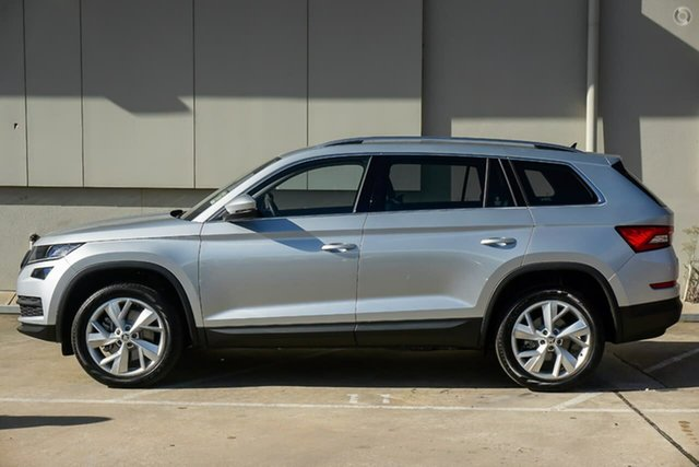 New Skoda Kodiaq NS MY19 132TSI DSG, 2019 Skoda Kodiaq NS MY19 132TSI DSG Silver 7 Speed Sports Automatic Dual Clutch Wagon
