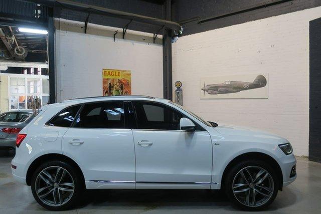 Used Audi Q5 8R MY15 TDI S Tronic Quattro, 2014 Audi Q5 8R MY15 TDI S Tronic Quattro White 7 Speed Sports Automatic Dual Clutch Wagon
