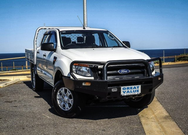 Used Ford Ranger PX XL, 2013 Ford Ranger PX XL White 6 Speed Manual Utility