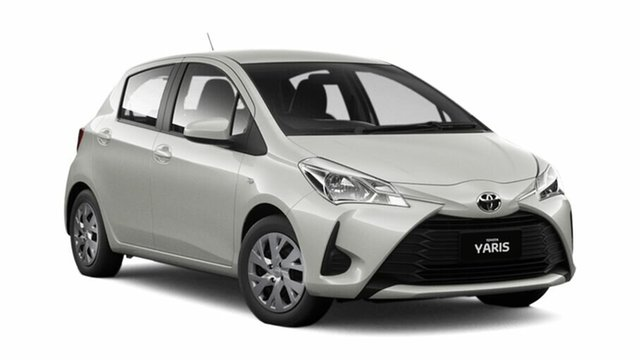 Demo Toyota Yaris NCP130R Ascent, 2019 Toyota Yaris NCP130R Ascent White 5 Speed Manual Hatchback