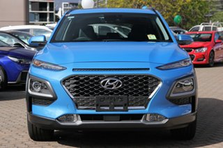 2020 Hyundai Kona OS.3 MY20 Highlander D-CT AWD Blue Lagoon 7 Speed Sports Automatic Dual Clutch