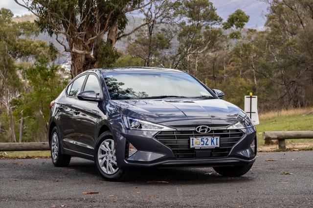 Demo Hyundai Elantra AD.2 MY19 Go, 2018 Hyundai Elantra AD.2 MY19 Go Iron Gray 6 Speed Sports Automatic Sedan