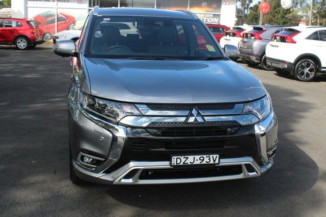 Demo Mitsubishi Outlander ZL MY19 PHEV AWD Exceed, 2018 Mitsubishi Outlander ZL MY19 PHEV AWD Exceed Titanium 1 Speed Automatic Wagon Hybrid