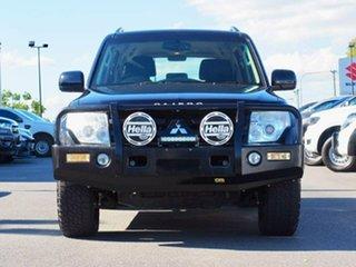 2013 Mitsubishi Pajero NW MY14 GLX-R Black 5 Speed Sports Automatic Wagon.