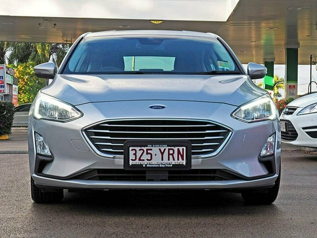 Used Ford Focus SA 2019MY Trend, 2018 Ford Focus SA 2019MY Trend Moondust Silver 8 Speed Automatic Hatchback