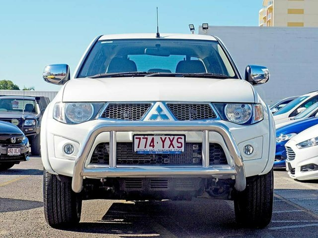 Used Mitsubishi Triton MN MY15 GLX-R Double Cab, 2014 Mitsubishi Triton MN MY15 GLX-R Double Cab White 5 Speed Sports Automatic Utility
