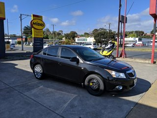 2011 Holden Cruze JG CDX Black 5 Speed Manual Sedan