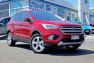 2018 Ford Escape ZG 2019.25MY Trend 2WD Red 6 Speed Sports Automatic Wagon.
