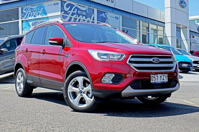Used Ford Escape ZG 2019.25MY Trend 2WD, 2018 Ford Escape ZG 2019.25MY Trend 2WD Red 6 Speed Sports Automatic Wagon