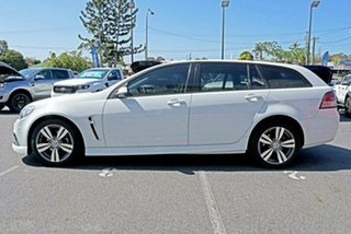 2014 Holden Commodore VF MY14 SV6 Sportwagon White 6 Speed Sports Automatic Wagon
