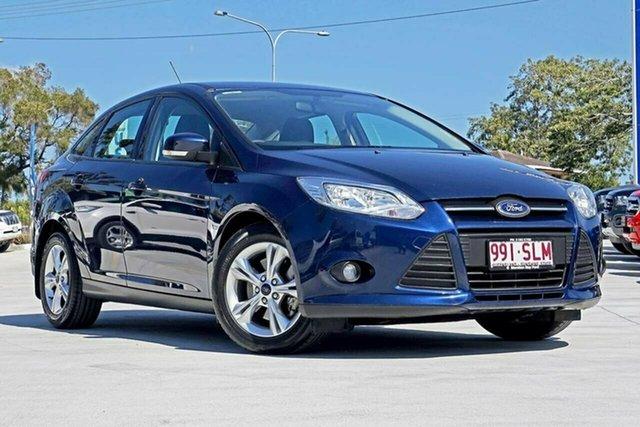 Used Ford Focus LW Ambiente PwrShift, 2012 Ford Focus LW Ambiente PwrShift Ink Blue 6 Speed Sports Automatic Dual Clutch Sedan