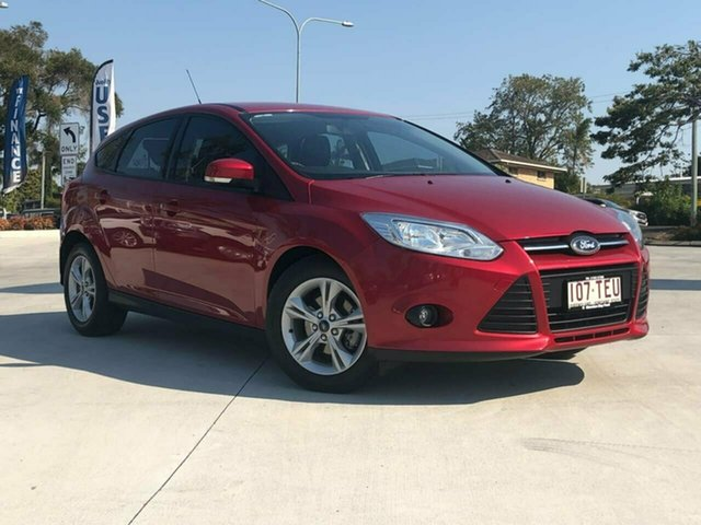 Used Ford Focus LW MkII Trend PwrShift, 2013 Ford Focus LW MkII Trend PwrShift Red 6 Speed Sports Automatic Dual Clutch Hatchback