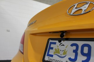 2015 Hyundai Accent RB2 MY15 Active Yellow 4 Speed Sports Automatic Hatchback