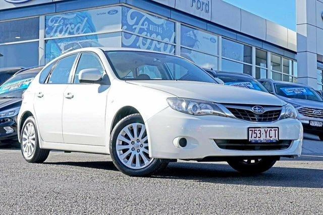 Used Subaru Impreza G3 MY09 R AWD, 2009 Subaru Impreza G3 MY09 R AWD White 4 Speed Sports Automatic Hatchback